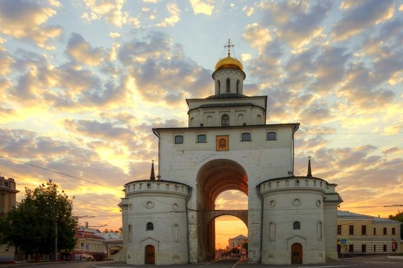 Владимир фото золотые врата